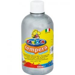 Farba Carioca Tempera 500 ml - srebrna