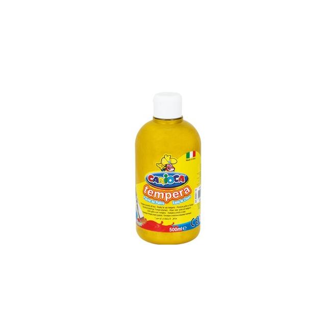 Farba Carioca Tempera 500 ml - złota
