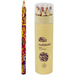 Kredka ołówkowa Fiorello Multikolor - 12 szt.