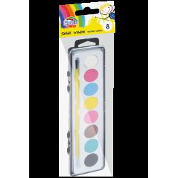 Farby akwarelowe Fiorello - 8 kolorów