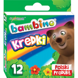 Kredki Bambino - 12 kolorów