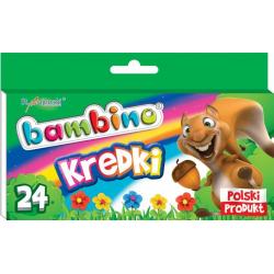 Kredki Bambino - 24 kolory