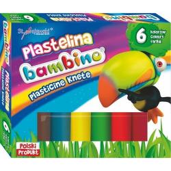 Plastelina Bambino - 6 kolorów
