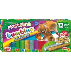 Plastelina Bambino - 12 kolorów