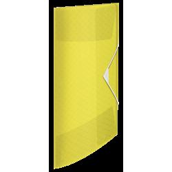 Teczka z gumką Esselte Colour'Ice PP 15mm - żółta