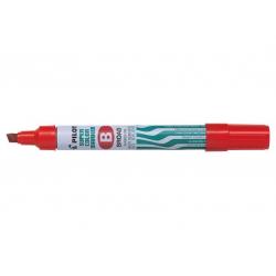 Marker permanentny Pilot SCA-B ścięty - czerwony