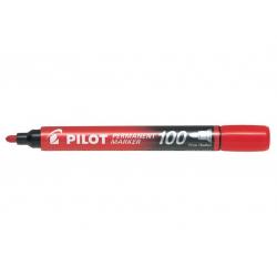 Marker permanentny Pilot SCA-100 okrągły - czerwony