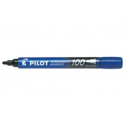 Marker permanentny Pilot SCA-100 okrągły - niebieski