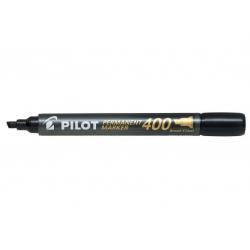 Marker permanentny Pilot SCA-400 ścięty - czarny