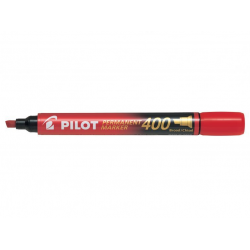 Marker permanentny Pilot SCA-400 ścięty - czerwony