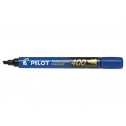 Marker permanentny Pilot SCA-400 ścięty - niebieski