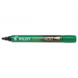 Marker permanentny Pilot SCA-400 ścięty - zielony