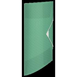 Teczka z gumką Esselte Colour'Ice PP 15mm - zielona