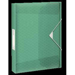 Teczka z gumką Esselte Colour'Ice PP poszerzana - zielona