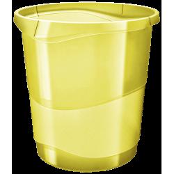 Kosz na śmieci Esselte Colour'Ice 14l - żółty