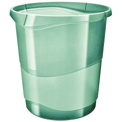 Kosz na śmieci Esselte Colour'Ice 14l - zielony