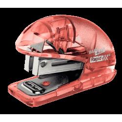Zszywacz mini Rapid Colour'Ice F4 - brzoskwiniowy