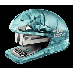 Zszywacz mini Rapid Colour'Ice F4 - niebieski