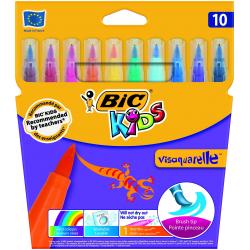 Pisaki Bic Kids Visaquarelle 10 kolorów