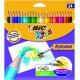 Kredki ołówkowe Bic Kids Aquacouleur  - 24 kolory
