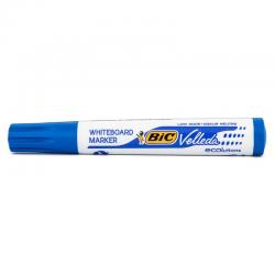 Marker suchościeralny Bic Velleda okrągły - niebieski