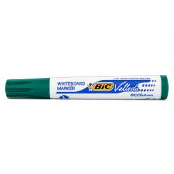 Marker suchościeralny Bic Velleda okrągły - zielony