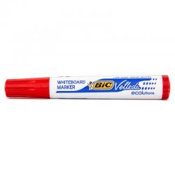 Marker suchościeralny Bic Velleda okrągły - czerwony