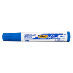 Marker suchościeralny Bic Velleda ścięty - niebieski