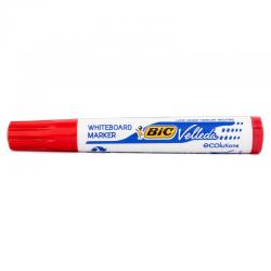 Marker suchościeralny Bic Velleda ścięty - czerwony