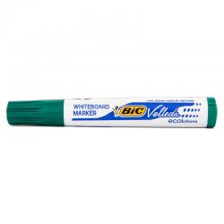 Marker suchościeralny Bic Velleda ścięty - zielony