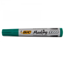 Marker permanentny Bic Marking 2000 ecolutions okrągły - zielony