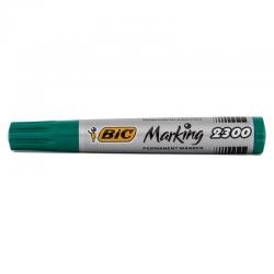 Marker permanentny Bic Marking 2300 ecolutions ścięty - zielony