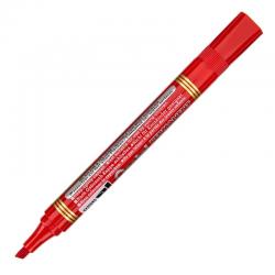 Marker permanentny Pentel N860 ścięty - czerwony