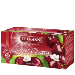Herbata Teekanne Sweet Cherry 20t - wiśniowa