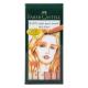 Pisaki artystyczne Faber-Castell - PITT ARTIST PEN B - SKIN TONES - 6 kolorów