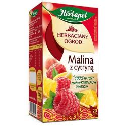 Herbata Herbapol Herbaciany Ogród Malina z cytryną 20t