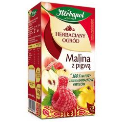 Herbata Herbapol Herbaciany Ogród Malina z pigwą 20t