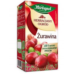 Herbata Herbapol Herbaciany Ogród Żurawina 20t