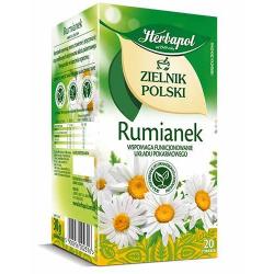 Herbata Herbapol Zielnik Polski Rumianek 20t