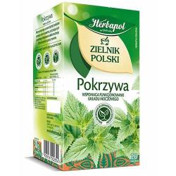 Herbata Herbapol Zielnik Polski Pokrzywa 20t