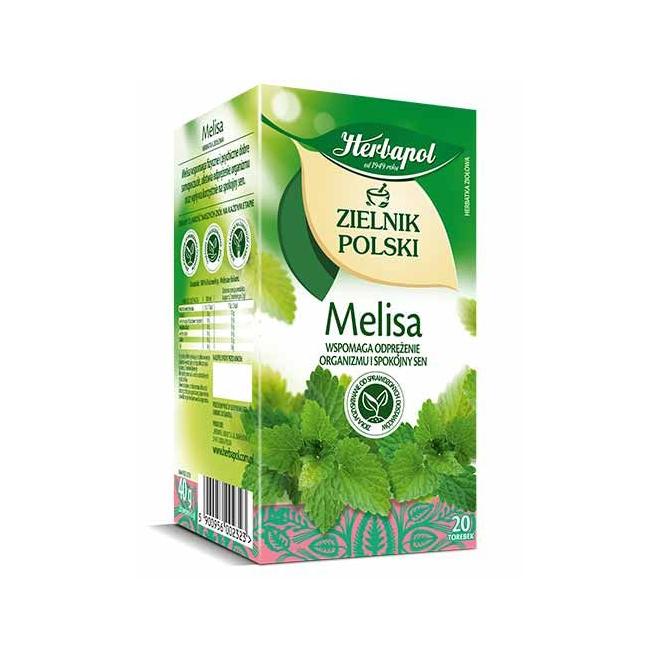 Herbata Herbapol Melisa 20t