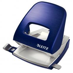 Dziurkacz duży metalowy Leitz Style - niebieski