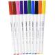 Pisaki Edding do tkanin - 10 kolorów