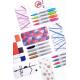 Markery permanentne Sharpie Fish - zestaw 28 kolorów
