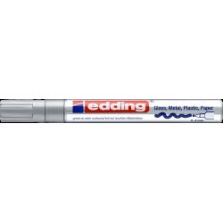 Marker Edding lakierowy 750 - srebrny