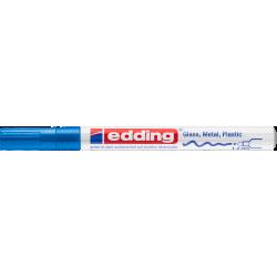 Marker Edding lakierowy 751 - niebieski