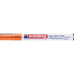 Marker Edding lakierowy 751 - pomarańczowy