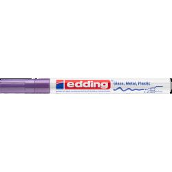 Marker Edding lakierowy 751 - fioletowy