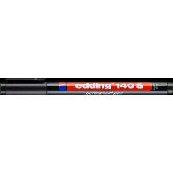 Marker Edding niezmywalny do folii 0,3 mm - czarny