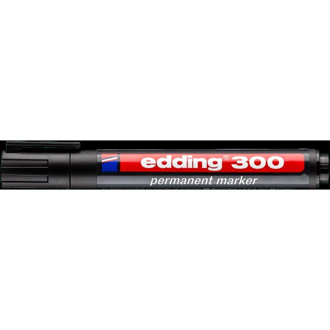 Marker permanentny Edding 300 - czarny